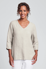 Flax Flax Linen V Pullover 3 Colors