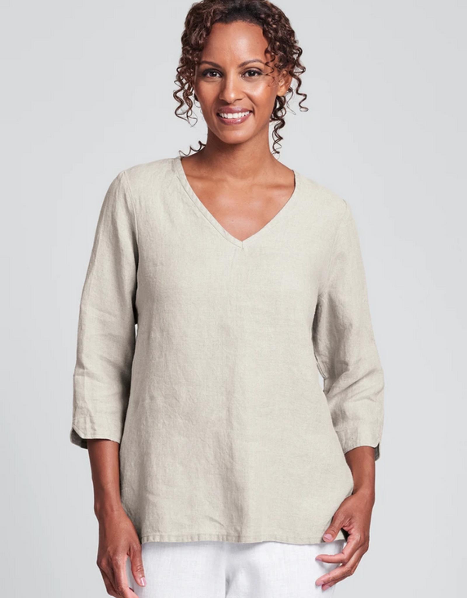 Flax Flax Linen V Pullover 5 Colors