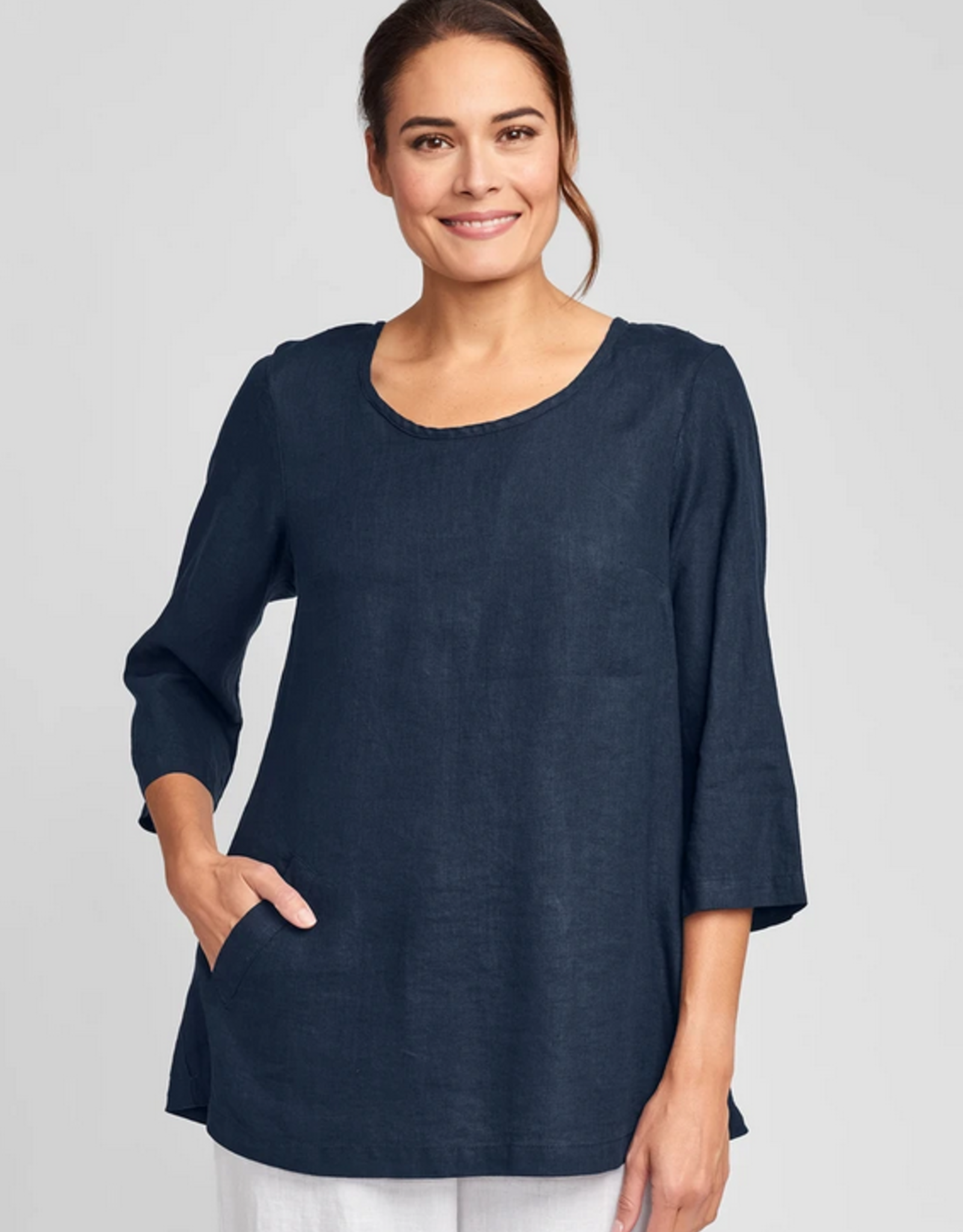 Flax Flax Back Up Linen Tunic 6 Colors