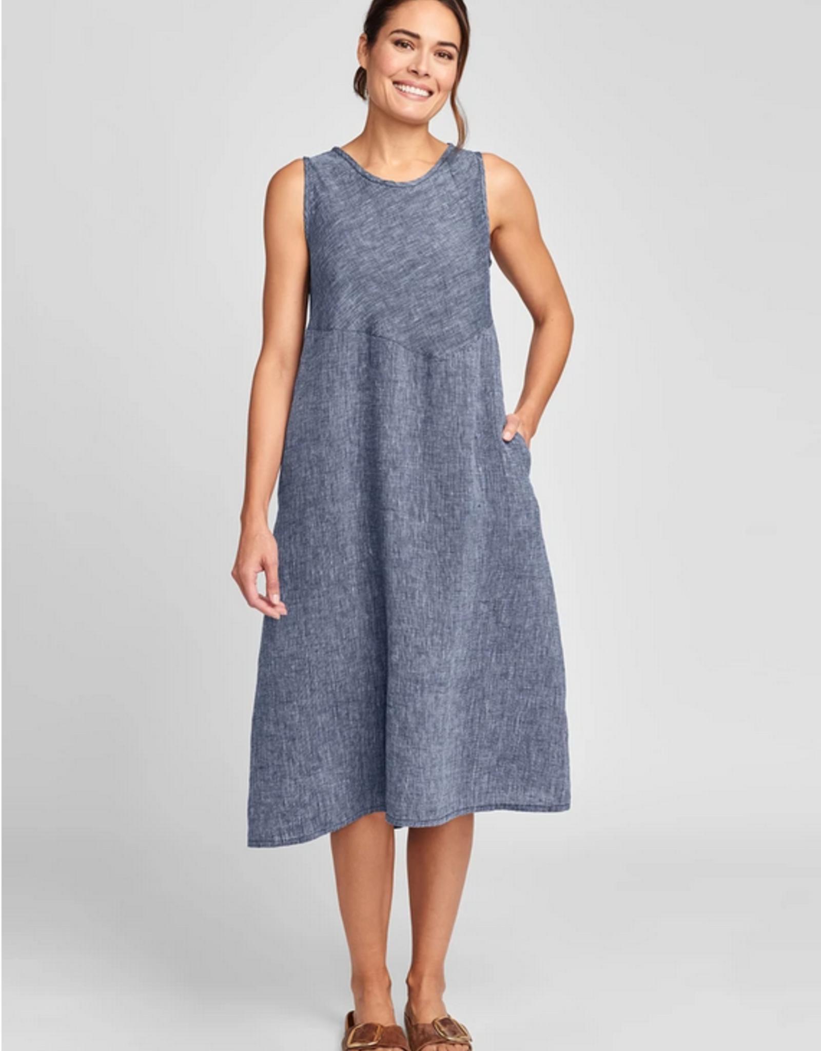 Flax Flax Sunrise Dress Yarn Dye