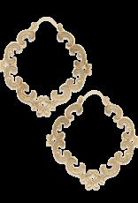 Mignon Faget Mignon Faget Renaissance Scrollwork Bronze Earhoops