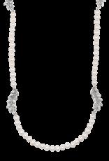 Mignon Faget Jasmine FWP Station Necklace