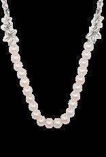 "Mignon Faget Mignon Faget Jasmine Flower FWP Necklace 17-21"""