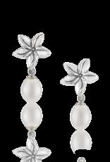 Mignon Faget Mignon Faget Jasmine Flower FWP Earrings