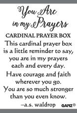 Tiny Cardinal Prayer Box