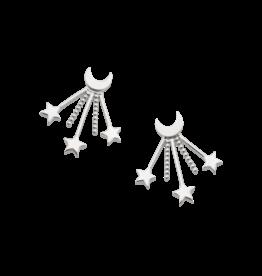 Mignon Faget Mignon Faget Crescent Starburst Earrings