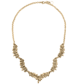 Mignon Faget Mignon Faget Jasmine Necklace Bronze