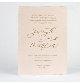 Oblation Papers & Press Gwenyth Invitation