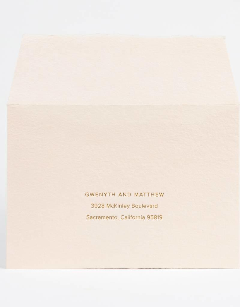 Oblation Papers & Press Gwenyth Envelope Printing