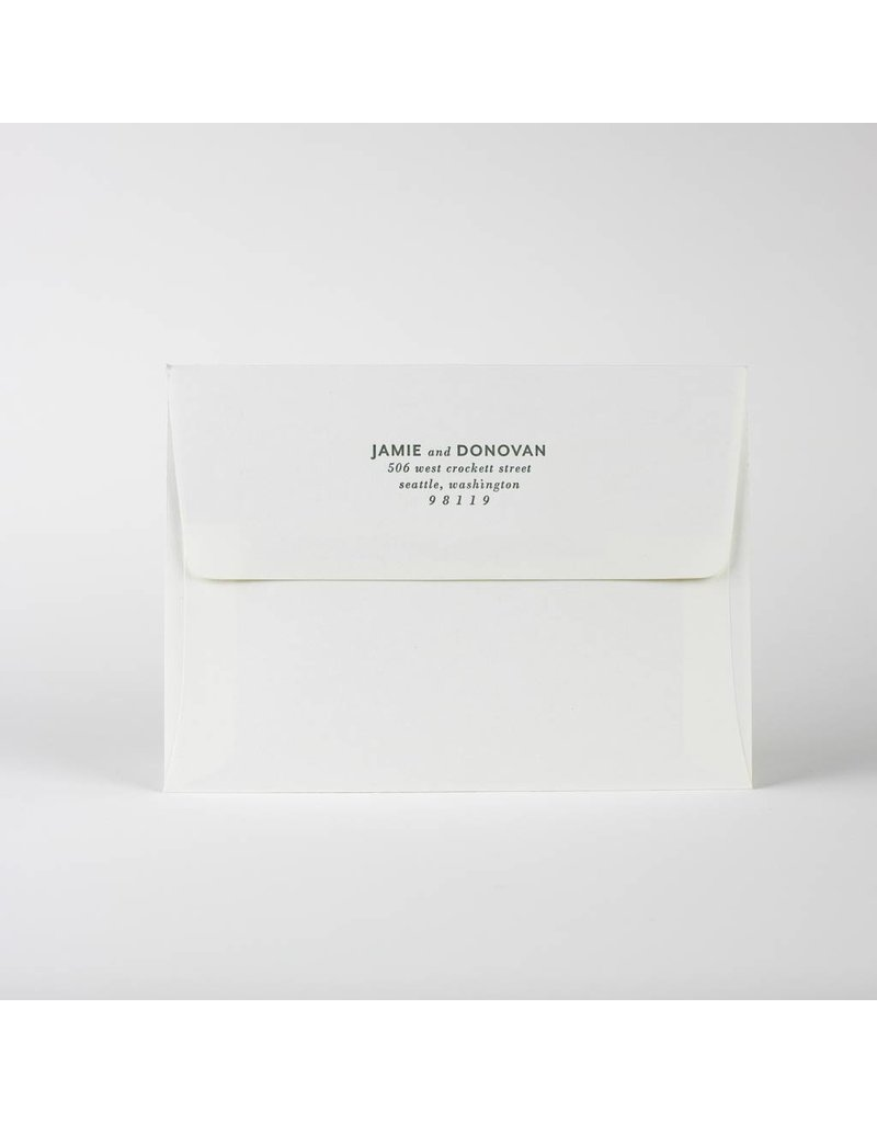 Oblation Papers & Press Alison Envelope Printing