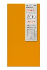 Traveler's Company Refill 2019 Weekly Vertical