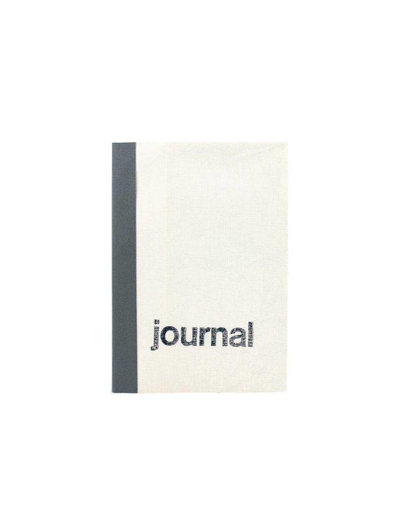 Sukie Travel Journal Linen Map Grey