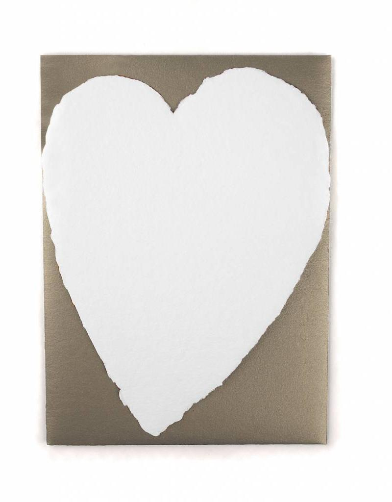 Oblation Papers & Press Small Handmade Paper Heart