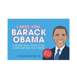 I Miss You Barack Obama Postcards