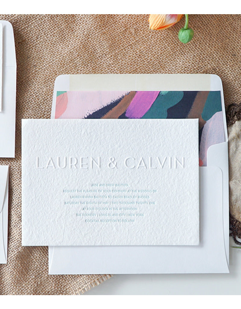 Oblation Papers & Press wedding invitation samples