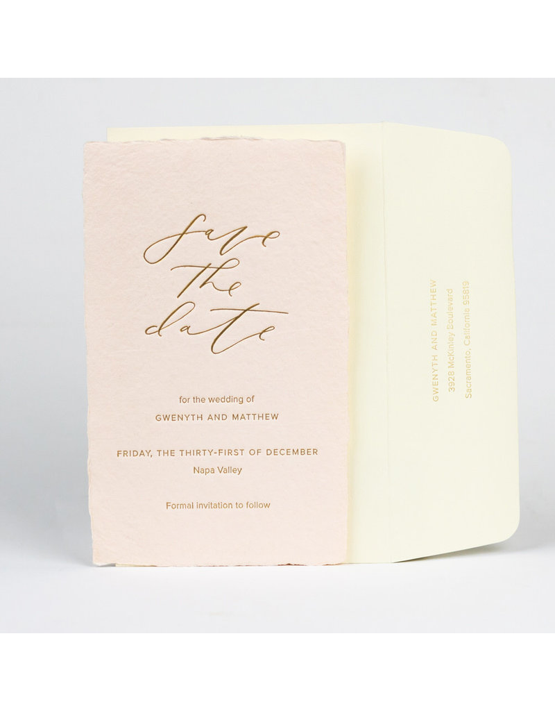 Oblation Papers & Press wedding suite proof