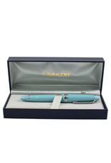 Sailor Sailor 1911 Large Fountain Pen – US Exclusive – Fresca Blue, Rhodium Trim