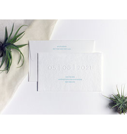 Oblation Papers & Press lauren save the date