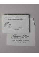 Oblation Papers & Press minuet reply set