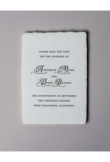 Oblation Papers & Press minuet save the date
