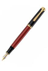 Pelikan Pelikan Souveran M400 Fountain Pen,  Black/Red - Fine