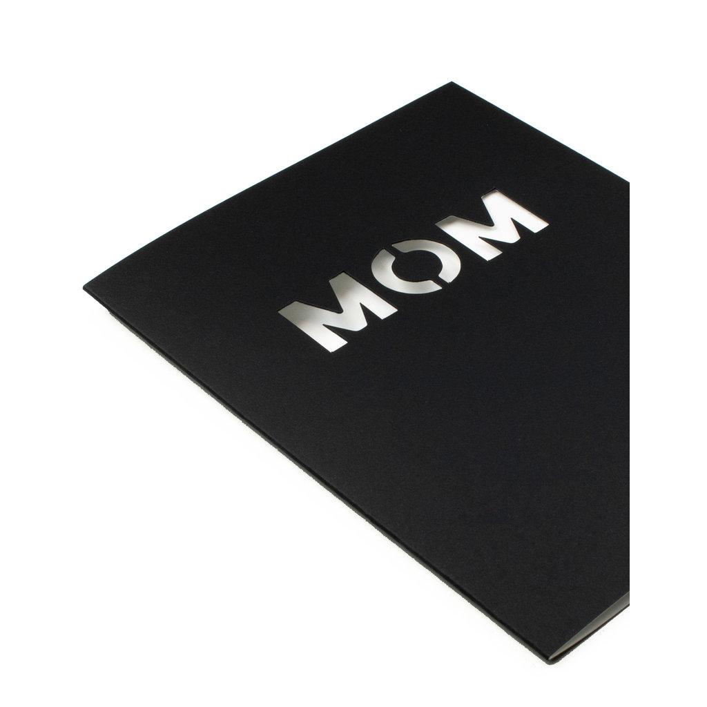 Hat + Wig + Glove Stencil Card - Mom