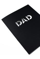 Hat + Wig + Glove Stencil Card - Dad