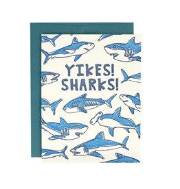 Hat + Wig + Glove Yikes! Sharks! Supreme Card