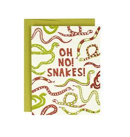 HWG Oh no! Snakes! Supreme Card