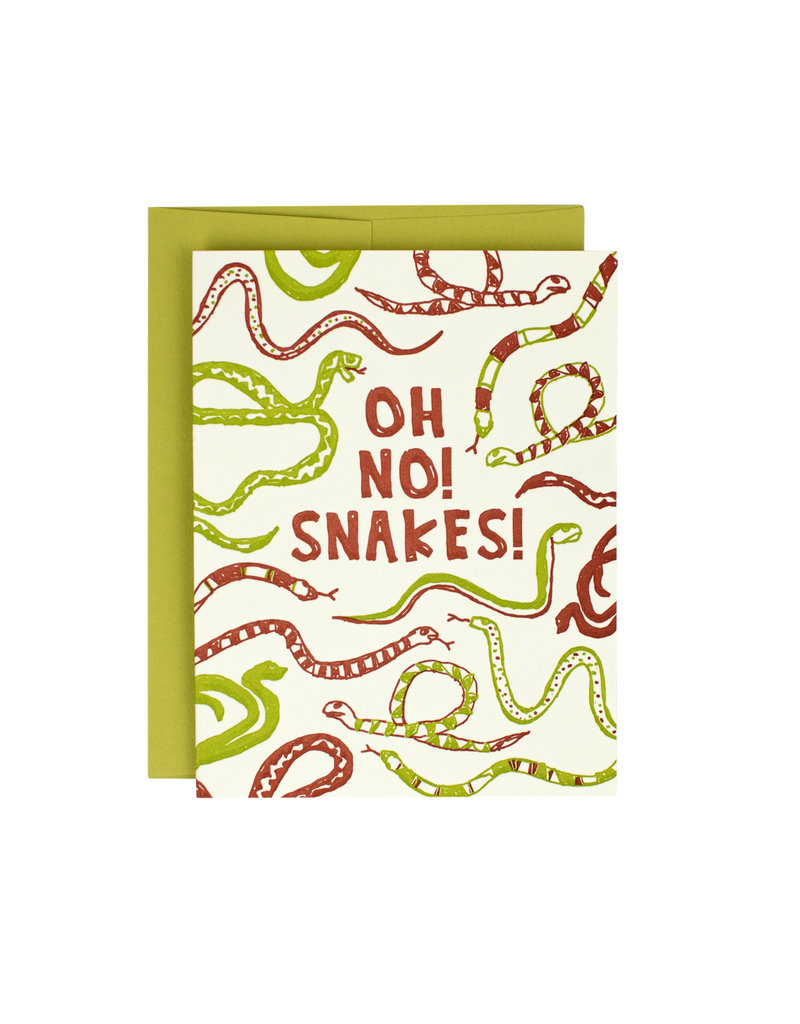 HWG Oh no! Snakes! Supreme Card