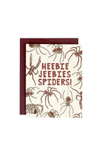 HWG Heebie jeebies spiders! Supreme  Card