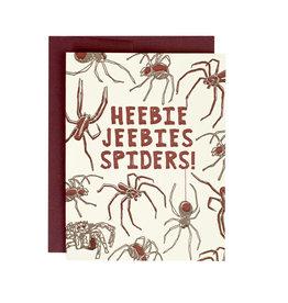 Hat + Wig + Glove Heebie jeebies spiders! Supreme Card