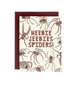 HWG Heebie jeebies spiders! Supreme Card
