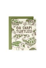 Hat + Wig + Glove Oh snap! Turtles! Supreme Card