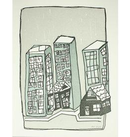 HWG Buildings Art Print