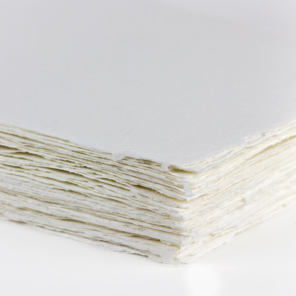 Oblation Papers & Press Handmade Paper - White