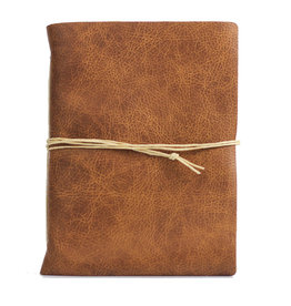 Oblation Papers & Press Medium Hand-bound Leather Journal - Whisky