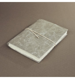 Oblation Papers & Press Medium Hand-bound Leather Journal - Sage