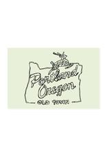 HWG Portland Old Town Postcard