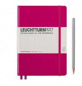 Leuchtturm A5 Berry Hardcover Notebook Dotted