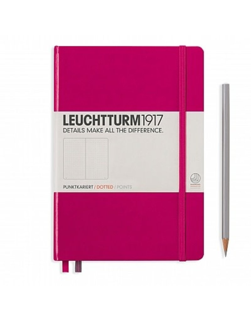 Leuchtturm A5 Berry Hardcover Notebook Dot