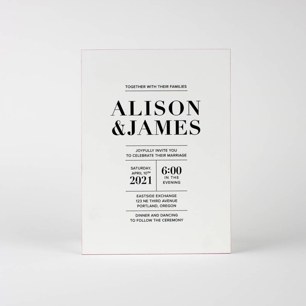 Alison Invitation