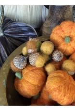 Felted Wool Pumpkin
