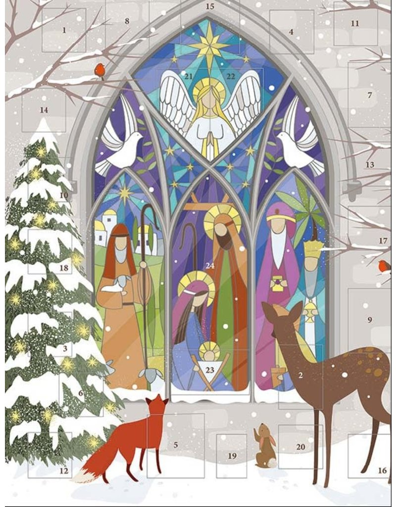 Stained Glass Manager Advent Calendar