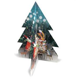 3-D Woodland Feast Advent Calendar