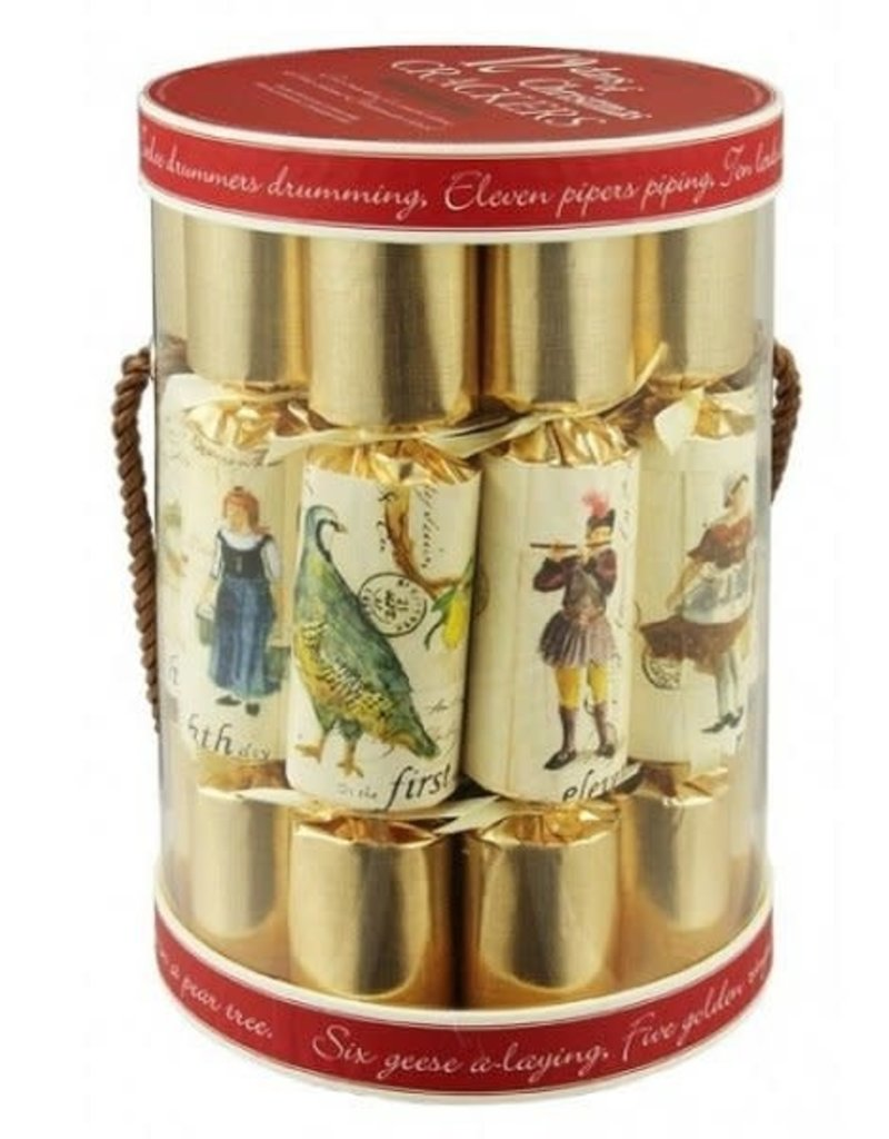 12 Days of Christmas Party Crackers