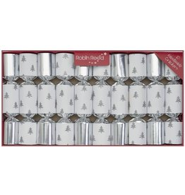Silver Glitter Tree Party Crackers