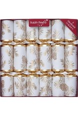 Gold Glitter Pine Cone Party Crackers