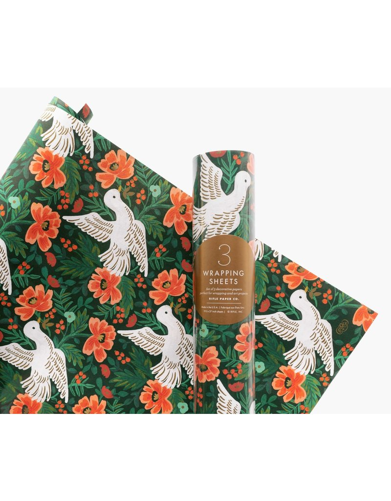 Peace Dove Wrapping