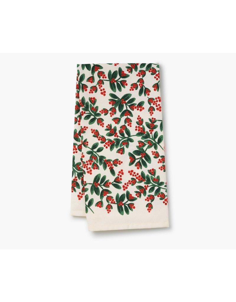 Misteltoe Tea Towel